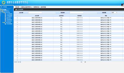 企业服务呼叫中心后台管理模板
