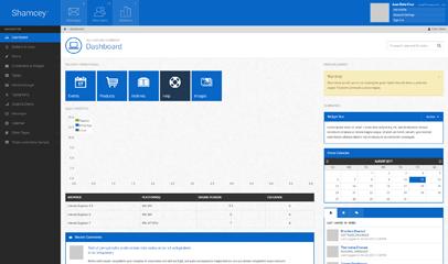 Win8 Metro风格后台管理模板