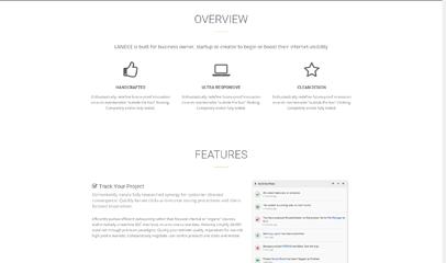 business商务风格单页响应式模板