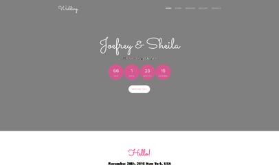Wedding婚庆公司网站模板
