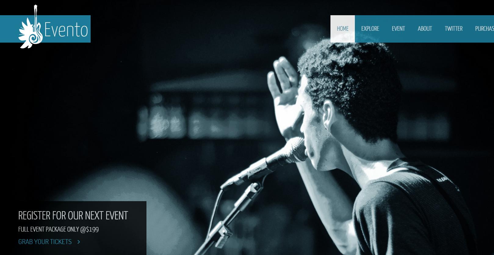 演唱会票务公司网站模板