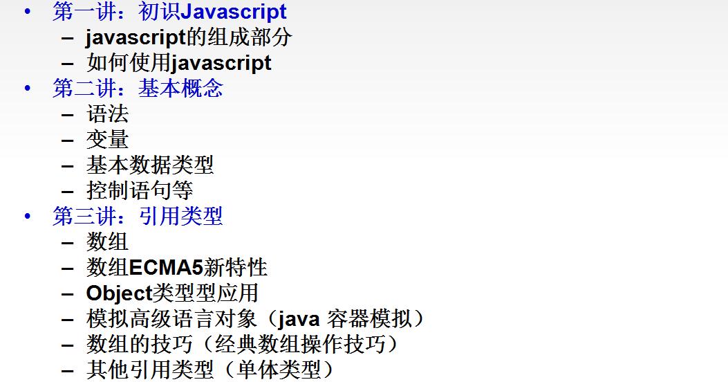 尚学堂javascript视频教程第一季课件源码
