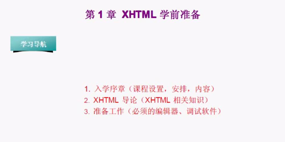 李炎恢XHTML视频教程课件源码