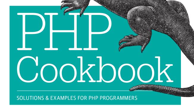 php经典实例(PHP Cookbook) 英文 第3版 pdf文字版