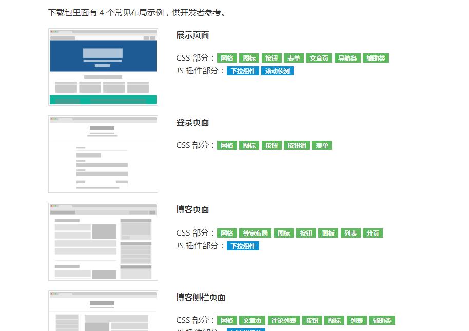 Amaze UI后臺管理模板 v2.7.2