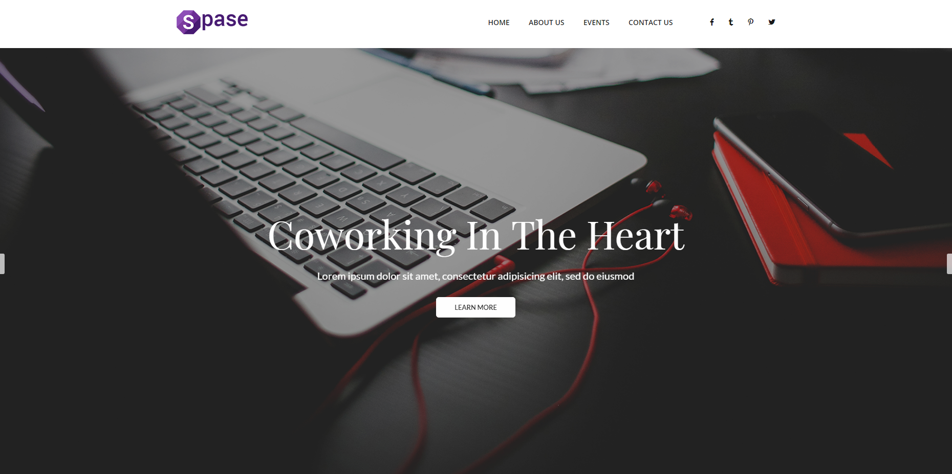 业务与协作网站模板