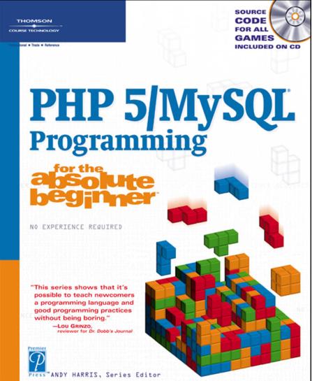 《PHP5 MySQL 编程入门》