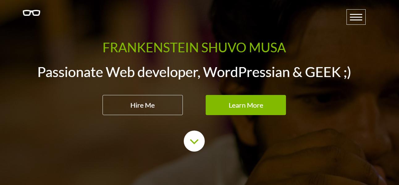 棕色web开发平台网站模板