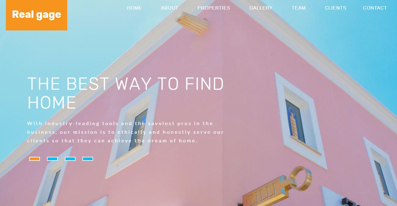 粉蓝外墙涂料公司网页模板