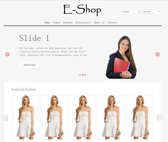 时装在线购物商城的网站