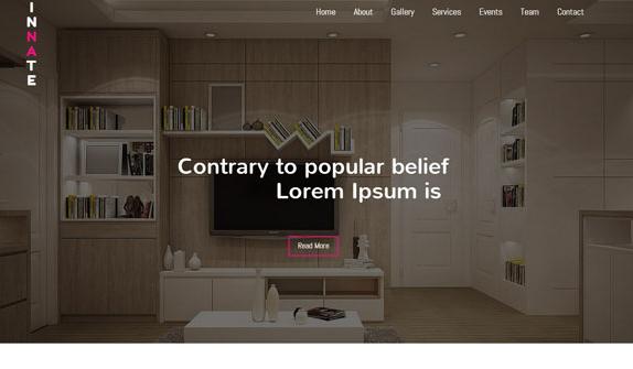 精致室内家居建材网站模板