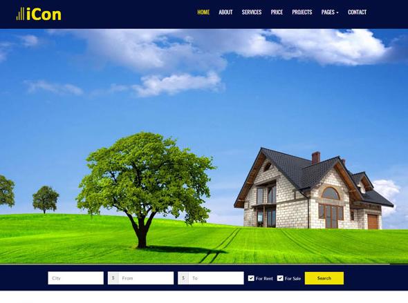 旅游酒店住宿的网站模板
