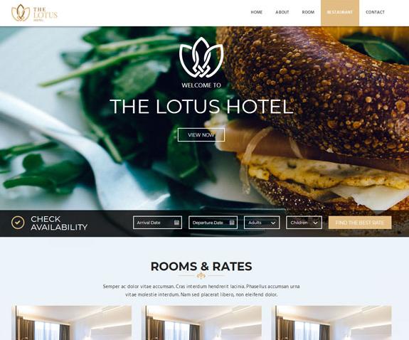 国际酒店在线预订平台模板