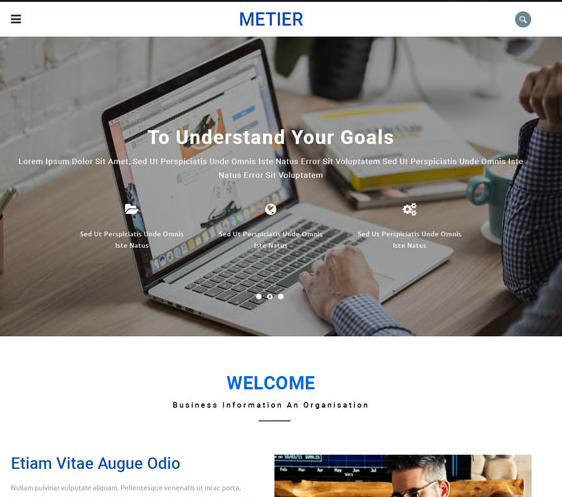 商务互联网IT科技网站模板