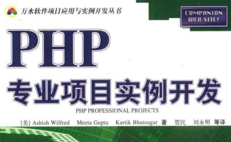 php专业项目实例开发 PDF格式