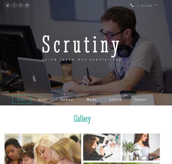 教育培训学校静态网站模板
