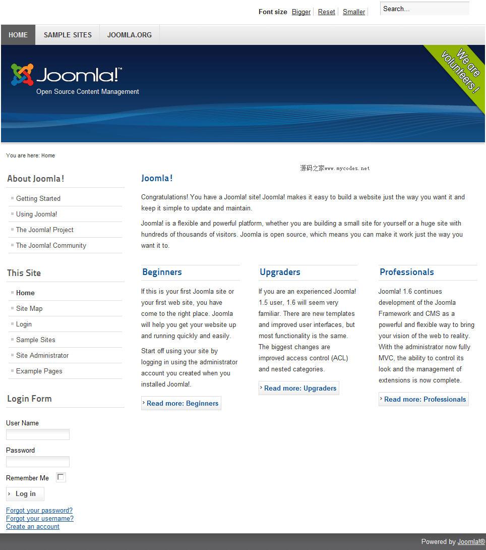 开源内容管理系统