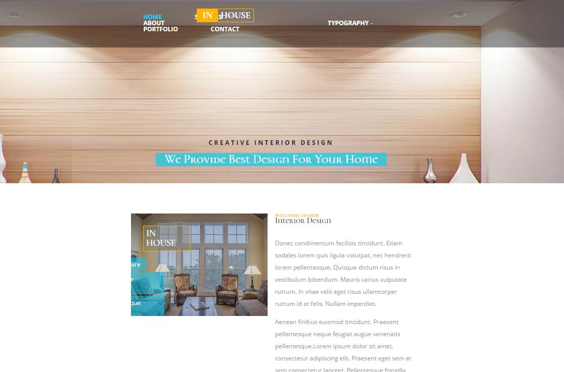五星级酒店高端网站模板