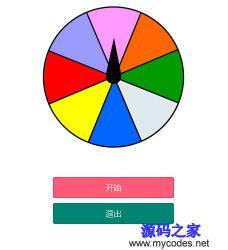 微信小程序-微信转盘抽奖活动代码
