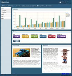 BlueWhale Admin后台管理HTML模板