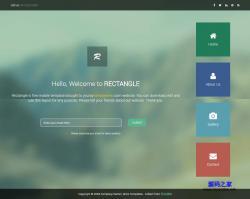 Bootstrap-个人简历响应式网页模板