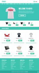 HTML-Aditii服装商城响应式模版