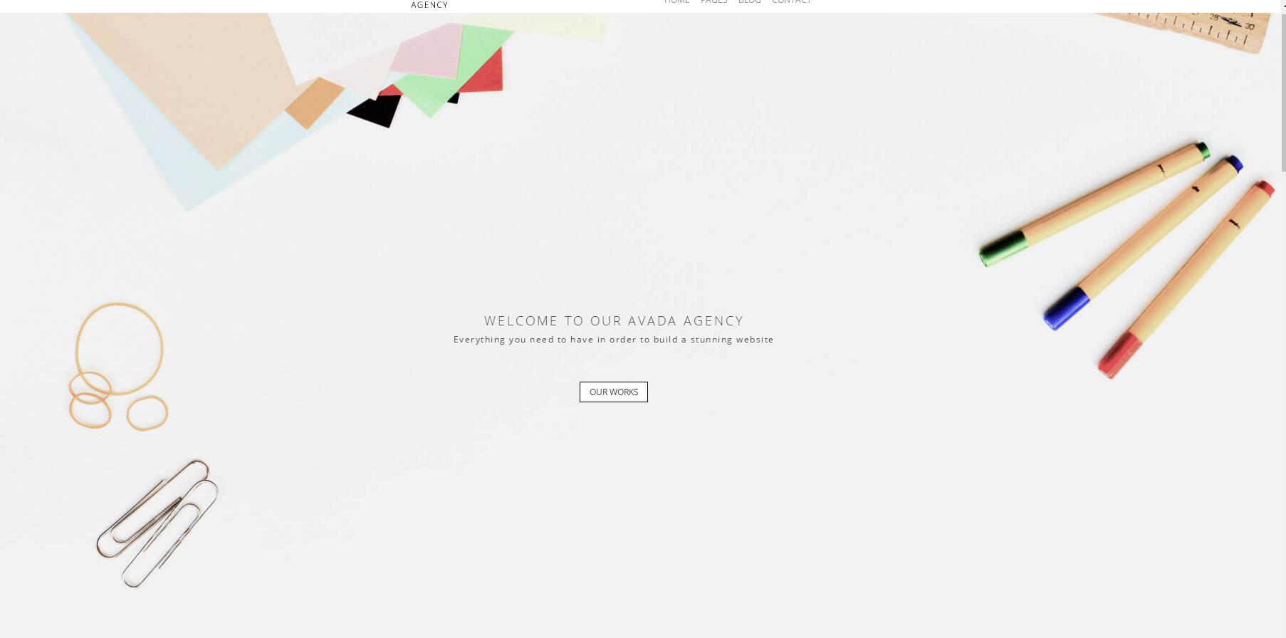 极简艺术设计4A广告公司企业模板