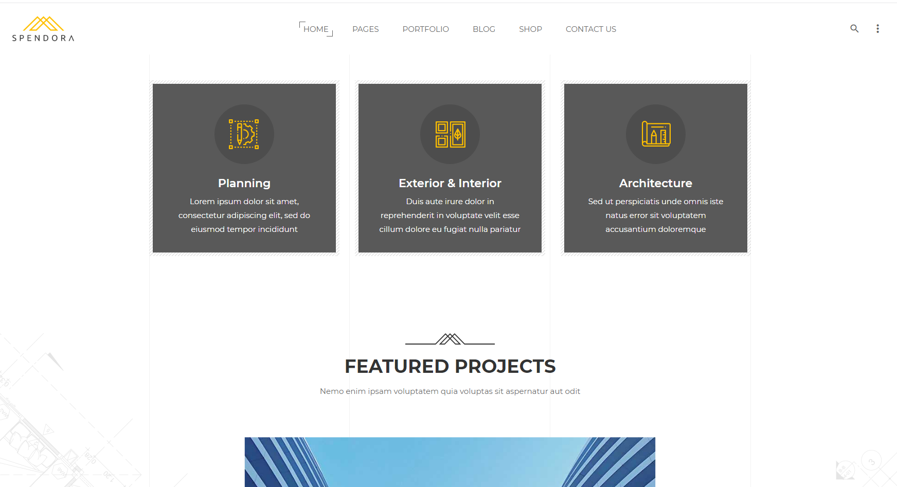 HTML5高端大气响应式建筑工程艺术设计研究院企业网站模板