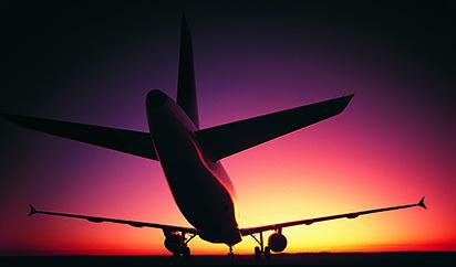 飞机场高清图片