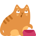 19个大黄猫咪PNG图标