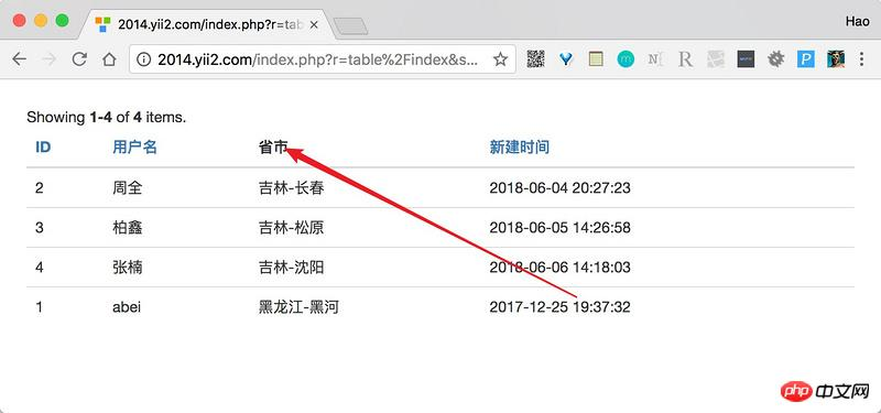 关于Yii2中GridView的用法总结- dragon_tech的个人空间- OSCHINA
