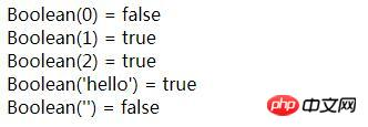 javascript如何实现值的类型转换
