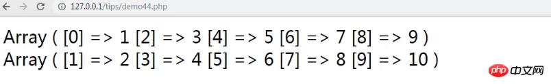 PHP如何实现数组元素奇偶排序?(图文+视频)