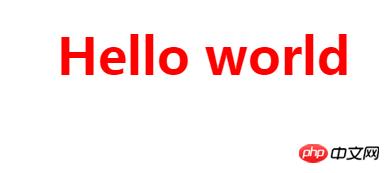 HTML中怎么设置h1的字体样式你知道吗?关于设置h1标签的样式详解