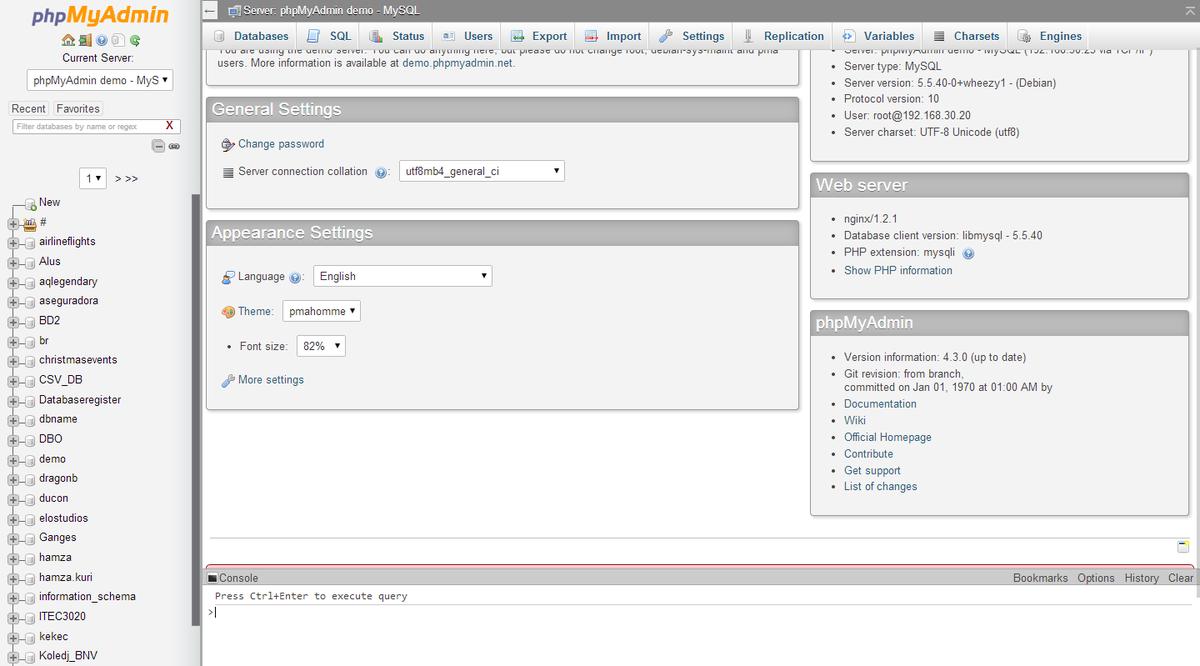 详解PHPMyadmin的配置