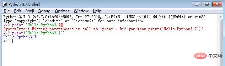 python学习_python2.7和3.7的区别