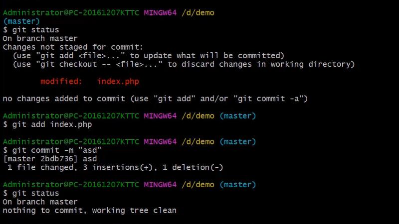 Git如何合并分支