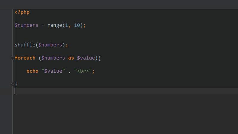 php怎么实现数组随机排序