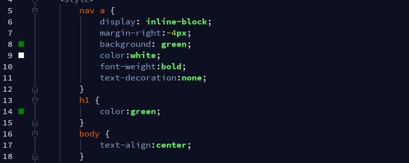 如何删除内联块元素之间的空格