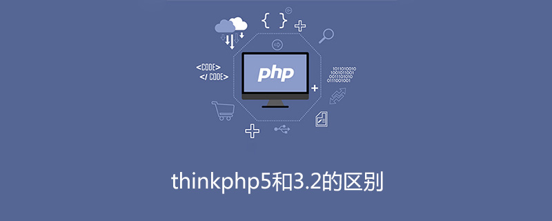 thinkphp5和3.2的区别