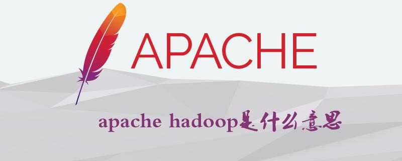 apache hadoop是什么意思