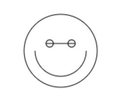 js的趣味实现:给你一个戴眼镜的笑脸