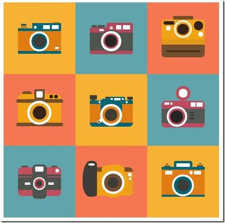 九款纯CSS3绘制的复古相机特效代码
