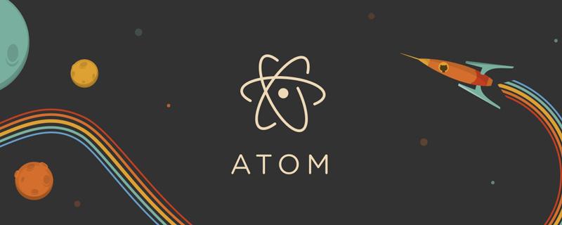 Atom中怎么显示右侧行数?