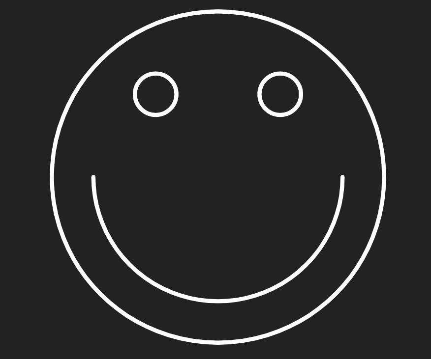 如何使用HTML5+CSS3动态画一个笑脸