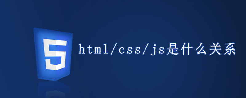 html/css/js是什么关系