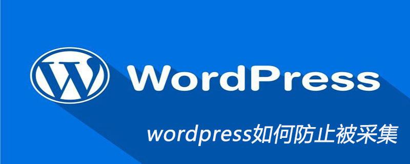 wordpress如何防止被采集_wordpress教程