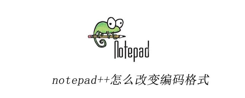 notepad++怎么改变编码格式