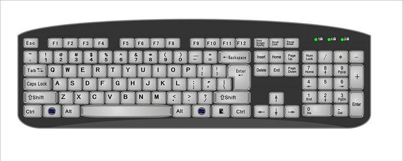 电脑键盘退格键锁住了