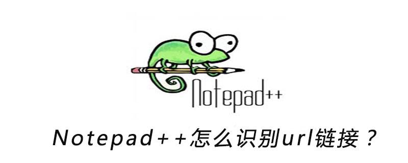 Notepad++怎么识别url链接?